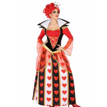 Disfraz Reina de Corazones Adulto