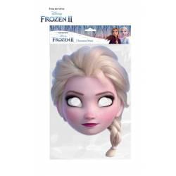 Careta Frozen II Elsa