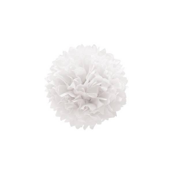 Pompones Blancos, 3 unidades