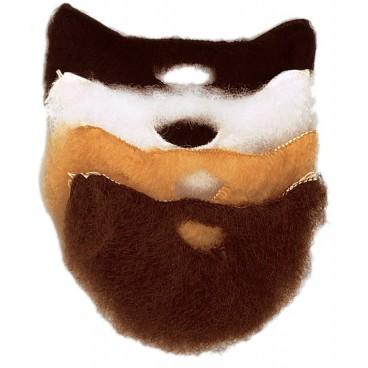 Barba Con Bigote Mediana Negra