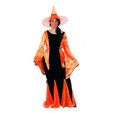 Disfraz Pitonisa Naranja