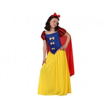 Disfraz Princesa Cuento Nieves niña