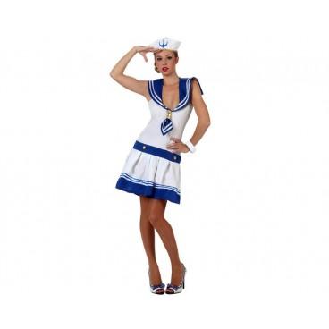 Disfraz Marinera Blanco