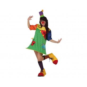 Disfraz Clown mujer adulto