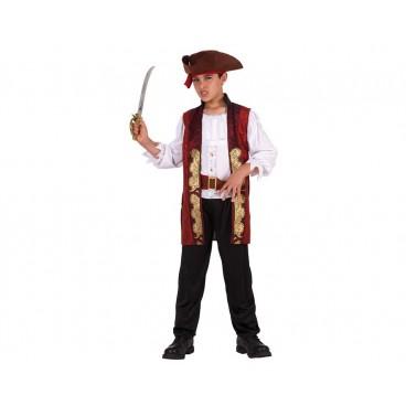Disfraz Pirata Lujo niño