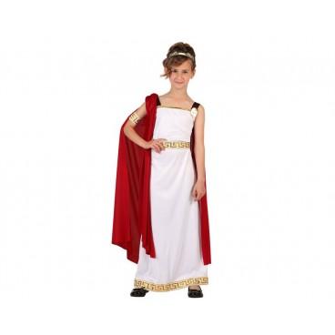 Disfraz Romana con Túnica Infantil