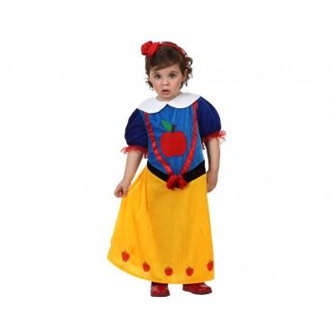 Disfraz Princesa Nieves Bebé