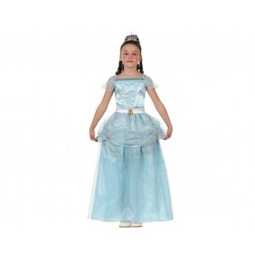 Disfraz Princesa Cuento Azul niña
