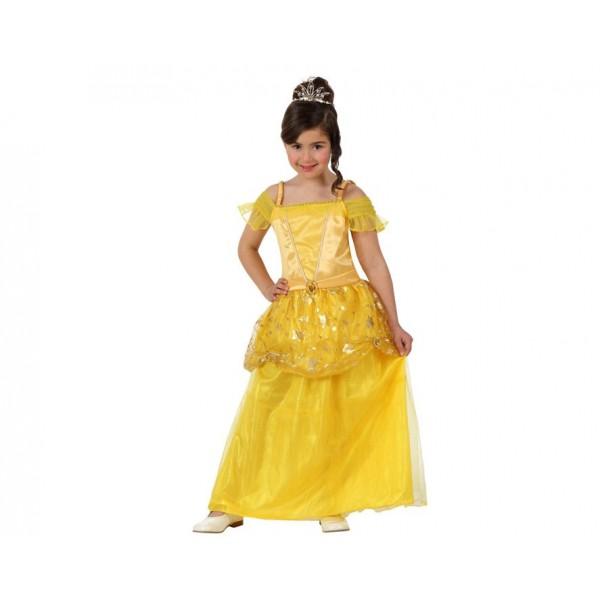 Disfraz Princesa Cuento Amarilla niña