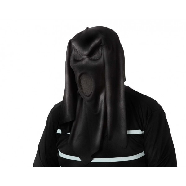 Máscara Fantasma Negra Tela
