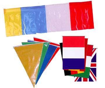 Banderas y Adornos