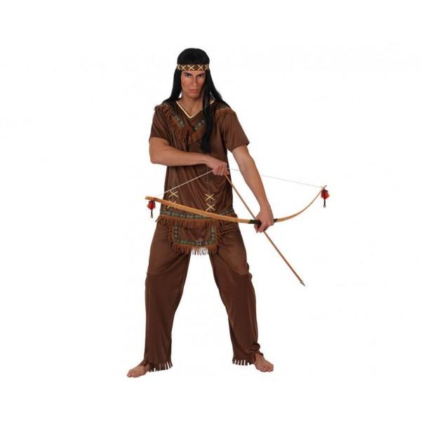 Comprar Disfraz de Indio Marrón para Adultos