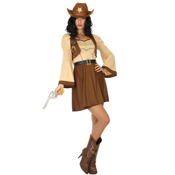 Comprar Disfraz de Vaquera para Mujer