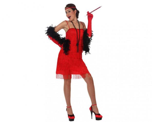 Comprar Disfraz de Charleston Rojo para Mujer