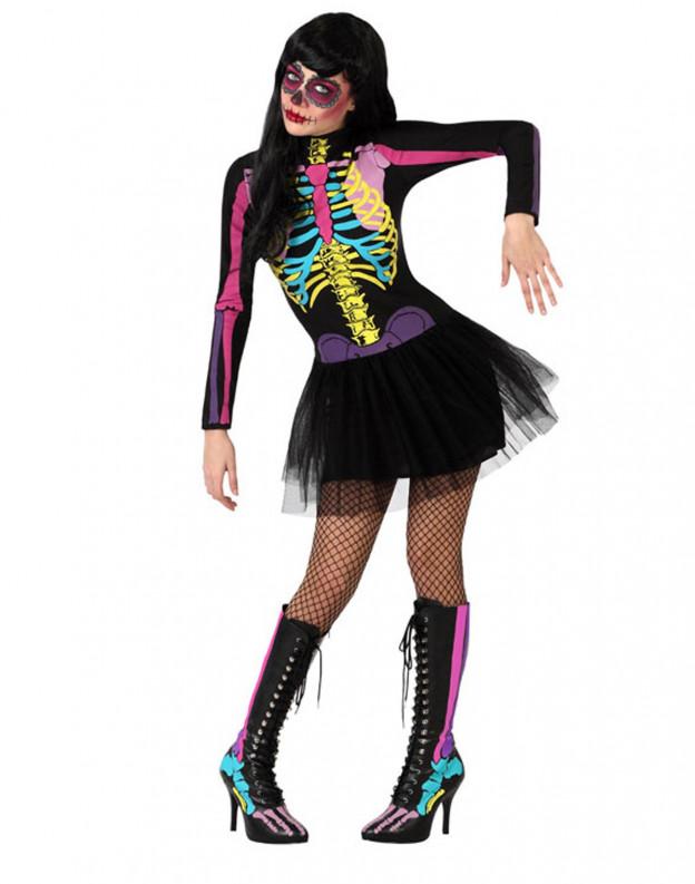 Comprar Disfraz de Esqueleto Sexy para Mujer