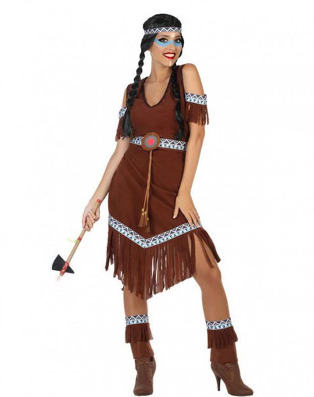 Comprar Disfraz de India Tribu para Mujer