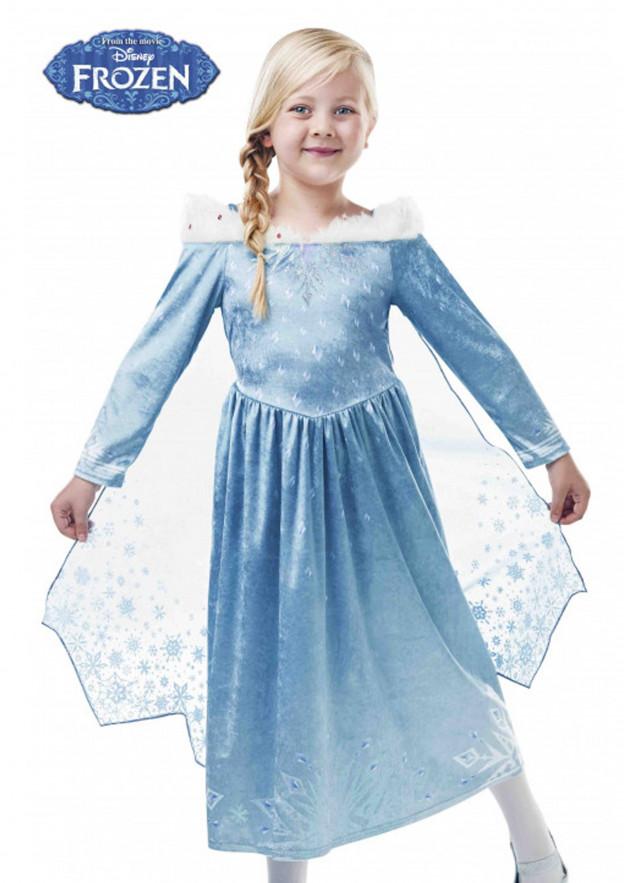 Disfraz de Elsa Frozen I Deluxe de Disney para niñas