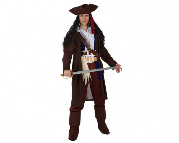 Comprar disfraz de pirata caribeño para hombre