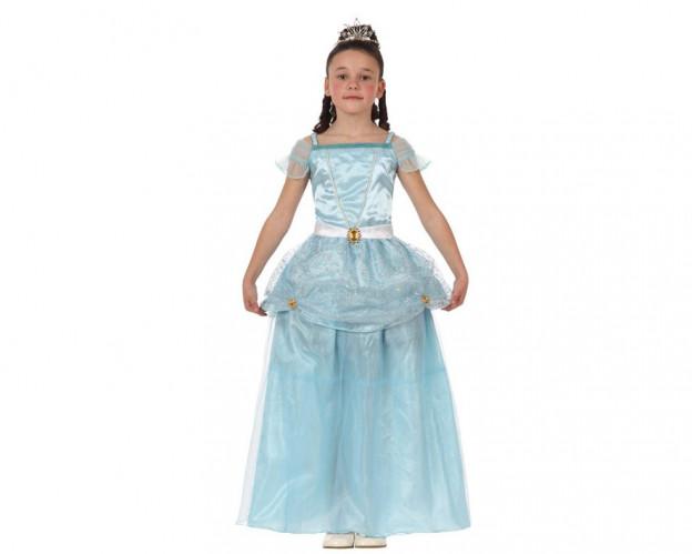 Disfraz de Princesa Cuento Azul para niñas